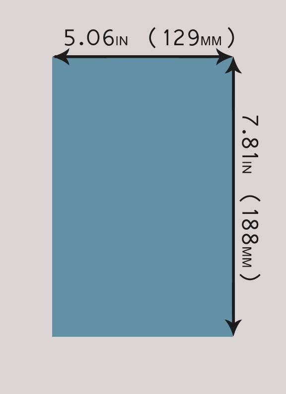tamaños de libros disponibles para la publicación